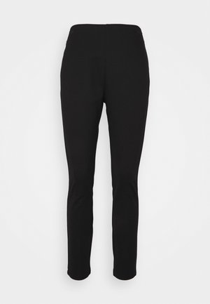 STRAIGHT LEG PANT - Trousers - black