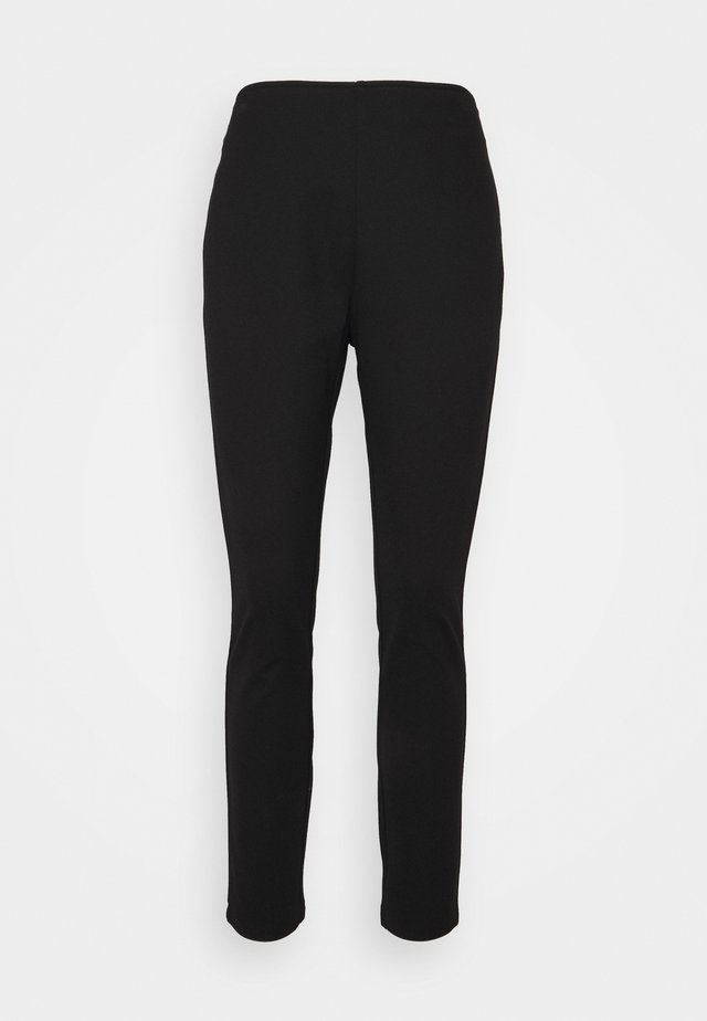 STRAIGHT LEG PANT - Broek - black