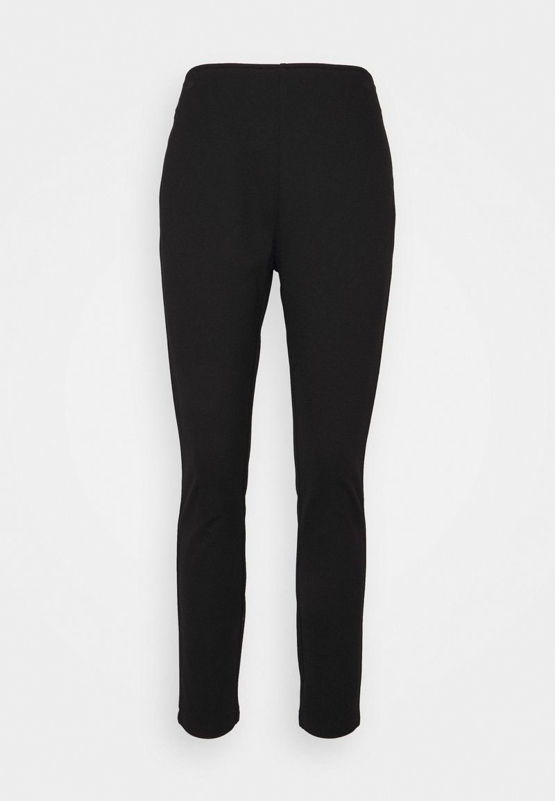 DKNY - STRAIGHT LEG PANT - Bukser - black