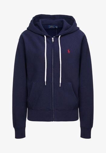 SEASONAL  - Zip-up sweatshirt - cruise navy