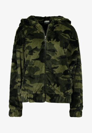 CAMO TEDDY  - Summer jacket - olive