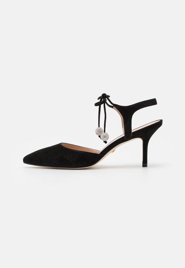 ORION  - Lace-up heels - black