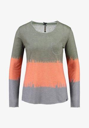 """WLS GRAVITY"" LANGARM - Print T-shirt - khaki"