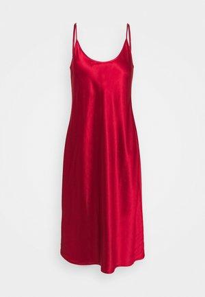 NIGHTGOWN UNDER KNEE - Nattskjorte - red tango
