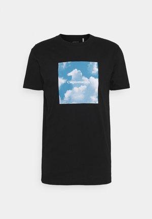 CLOUD GULL - T-shirts med print - black