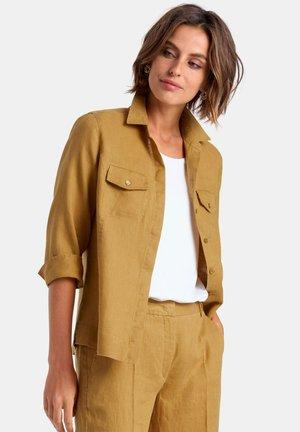 Button-down blouse - corn yellow