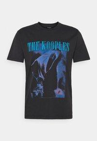 The Kooples - Printtipaita - black washed - 4