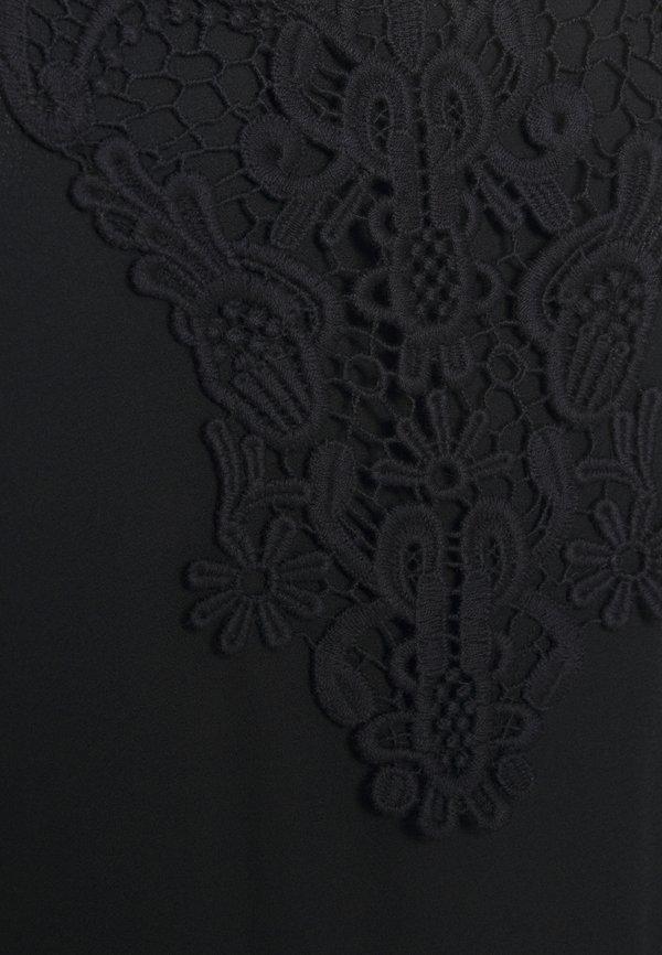 ONLY ONLBEVERLY - Bluzka - black/czarny HGAJ