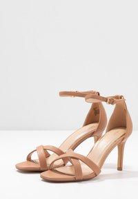Head over Heels by Dune - MADIHA - High heeled sandals - nude - 4