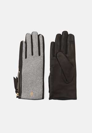ELEVATED MIX GLOVES - Gloves - grey