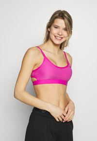 Nike Performance - INDY BRA - Sport BH - active fuchsia/black - 0