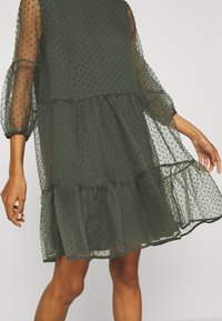 InWear - KATERINA DRESS - Sukienka koktajlowa - beetle green - 4