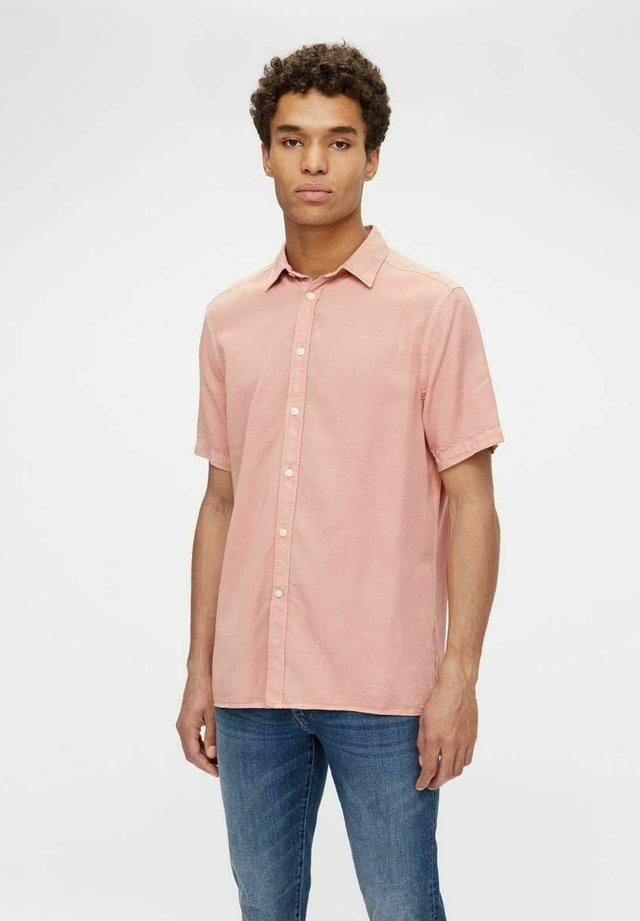TENCEL  - Camicia - rose coppar