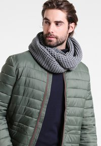 Jack & Jones - JACWAFFLE TUBE - Sjaal - grey melange - 0
