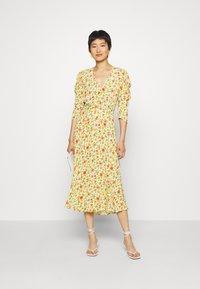 Ghost - MIRA DRESS - Robe de soirée - yellow - 1