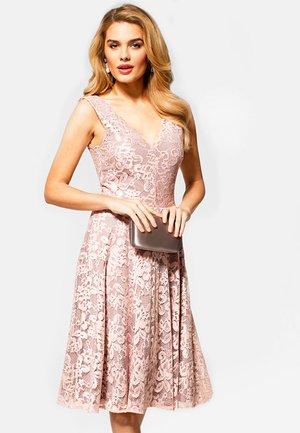 FLORAL  - Vestido de cóctel - light pink