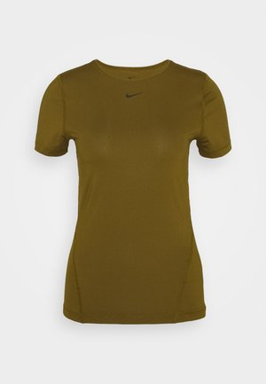 ALL OVER - Basic T-shirt - olive flak/black