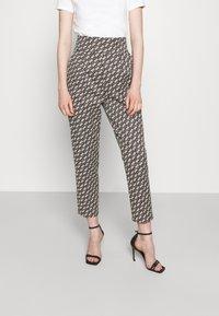 Pinko - NATALIA - Spodnie materiałowe - black - 0