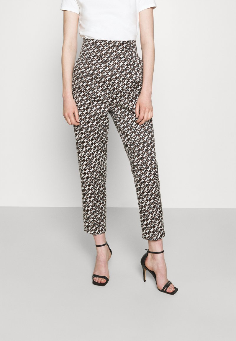 Pinko - NATALIA - Spodnie materiałowe - black