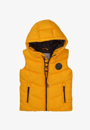 CHUNKY - Waistcoat - yellow