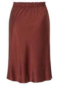 INAN ISIK - A-line skirt - braun - 1