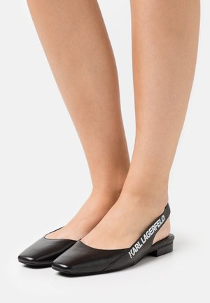 KLARA SLING BACK  - Slingback ballet pumps - black