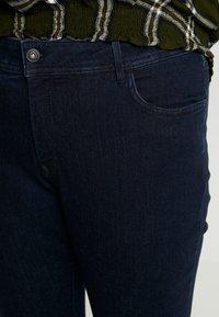 MY TRUE ME TOM TAILOR - BASIC - Jeans Skinny Fit - dark blue denim - 4