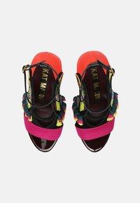 Kat Maconie - AYA - High heeled sandals - black/multi - 5