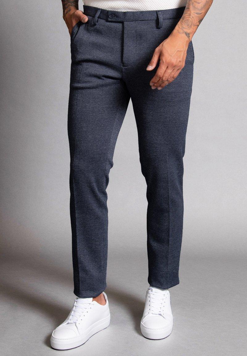 WORMLAND - Suit trousers - blau