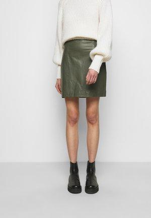 ELECTRA - Mini skirts  - castor