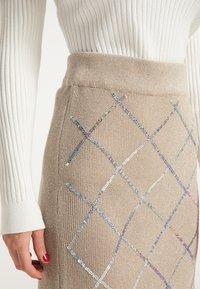 faina - Pencil skirt - beige - 3