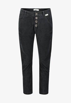 TSCHEPPA - Trousers - schwarz