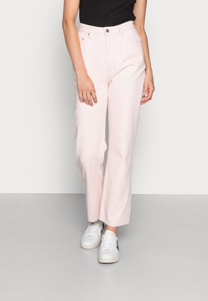 ON THE STRAIGHT AND NARROW - Straight leg jeans - just pink