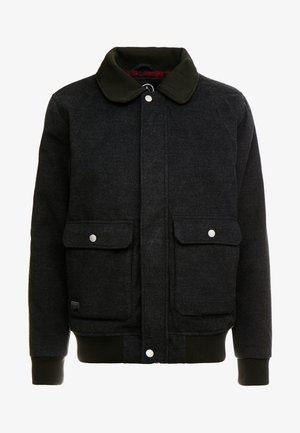 DOMJOHN  - Bomber Jacket - black