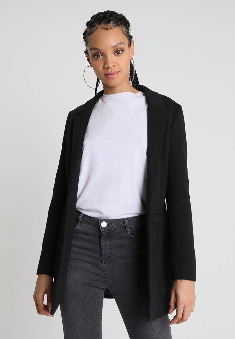 Noisy May - NMREKA LONG - Krátký kabát - black
