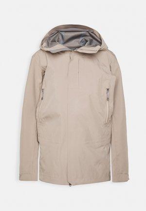 JACKET - Snowboard jacket - sandstorm
