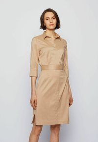 BOSS - DALIRI1 - Shirt dress - beige - 0