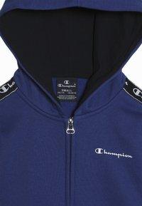 Champion - AMERICAN CLASSICS PIPING HOODED FULL ZIP - Mikina na zip - royal blue - 4