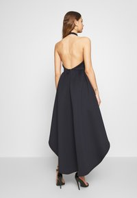 True Violet - HALTER NECK HIGH LOW DRESS - Sukienka koktajlowa - blue - 2