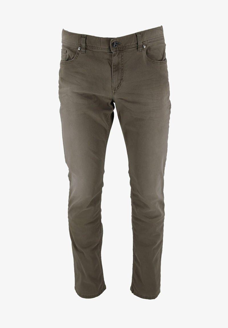 ALBERTO Pants - PIPE - Slim fit jeans - beige
