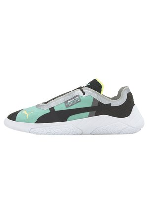 PUMA REPLICAT-X TRAINERS MALE - Matalavartiset tennarit - black-white-spectra green