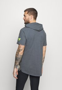 Under Armour - PROJECT ROCK - Print T-shirt - pitch gray - 2