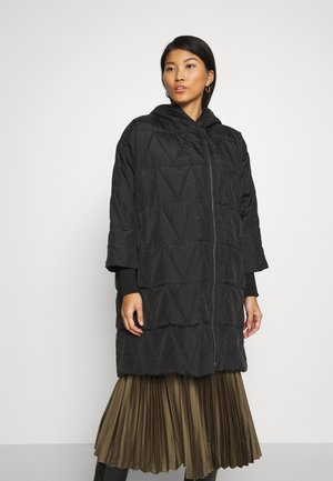 THYRA - Down coat - black
