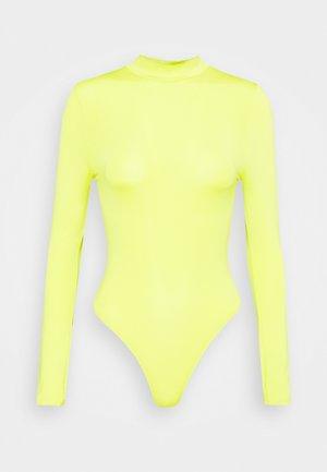 SLINKY FUNNEL  - Long sleeved top - lemon