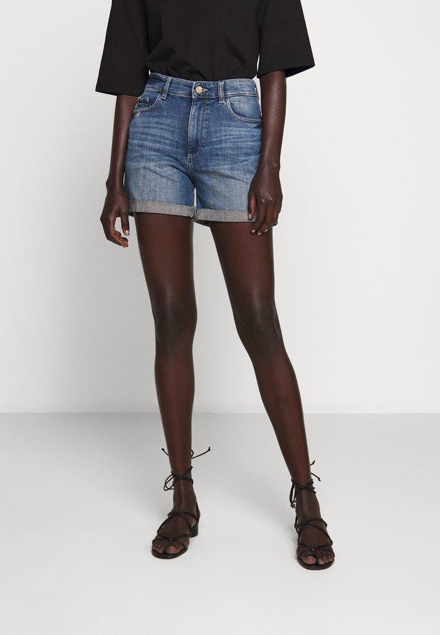 CECILIA  - Denim shorts - lambert