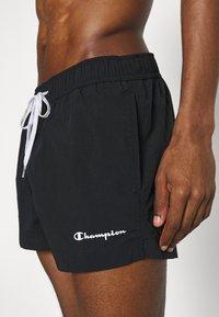 Champion - BEACH - Swimming shorts - black - 2