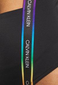 Calvin Klein Swimwear - PRIDE ONE PIECE - Badedrakt - black - 5