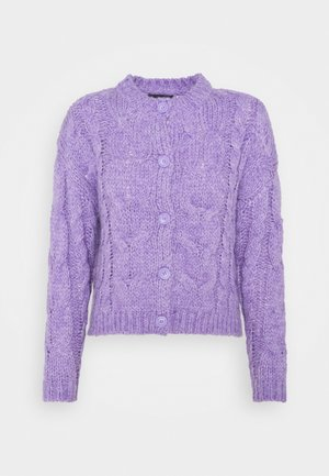 PCFITTA - Cardigan - dahlia purple