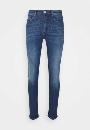 SHADY - Slim fit -farkut - past blue
