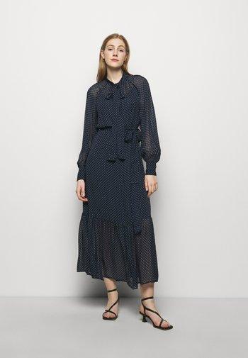 PERFECTION DOTS DRESS - Maksimekko - dark blue